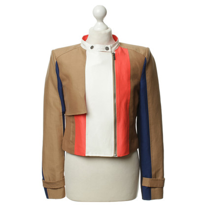 bcbg max azria blazer mit colour blocking second hand bcbg max azria blazer mit colour. Black Bedroom Furniture Sets. Home Design Ideas