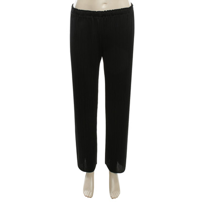 Issey Miyake Pleated-trousers in black