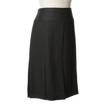 Escada Grey wool skirt
