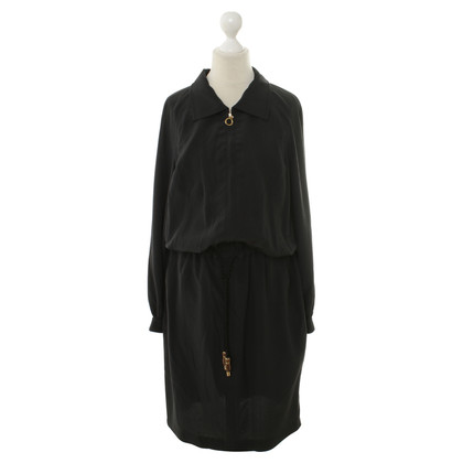 Escada zijden jurk in zwart