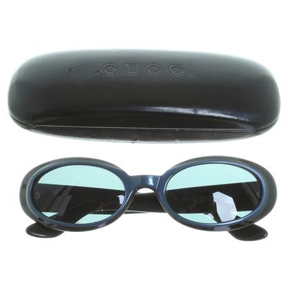 Gucci Tweekleurig frame zonnebril