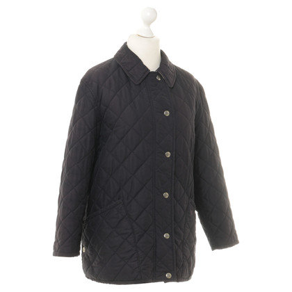 burberry trench coat sale outlet k3cj  Burberry Quilted Jacket in dark blue Burberry Quilted Jacket in dark blue