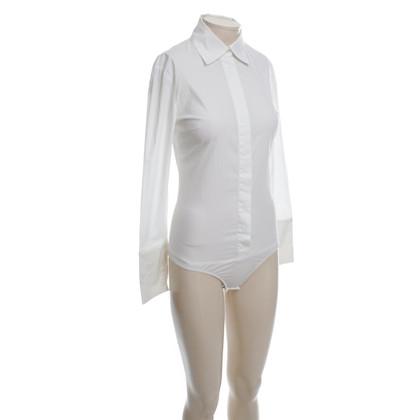 Patrizia Pepe Camicetta di corpo in bianco