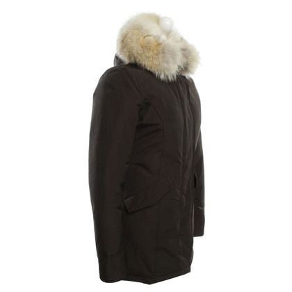 Woolrich Coat in donkerbruin