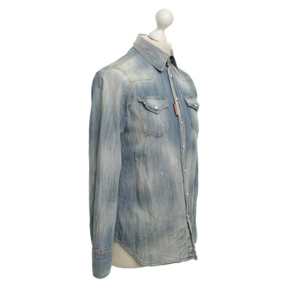 Dsquared2 Denim Shirt Washed