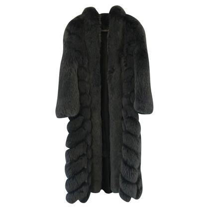 Christian Dior Giacca di pelliccia di volpe artica