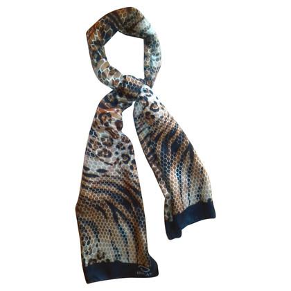 Oscar de la Renta Zijden sjaal animal-print