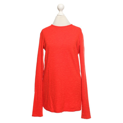 Helmut Lang Longsleeve in Orange-Rot