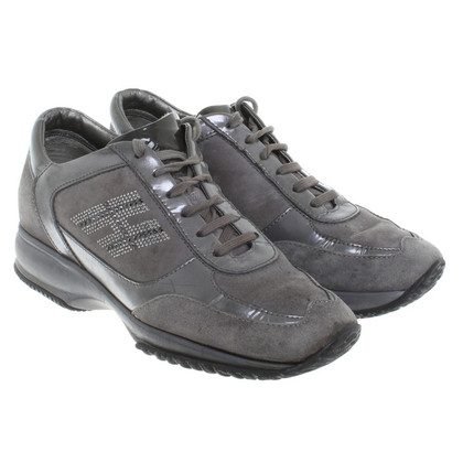 Hogan Sneakers in Grau