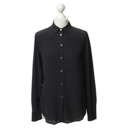 Filippa K Dark blue silk blouse