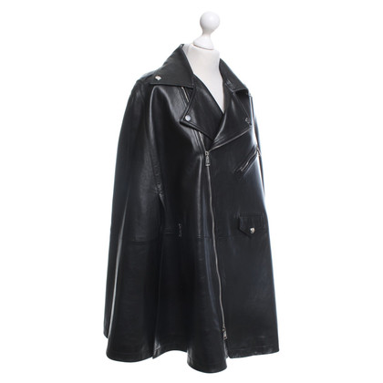 Ralph Lauren Leather cape