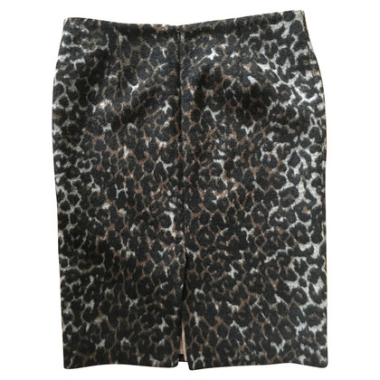 By Malene Birger Rock mit Leopardenmuster