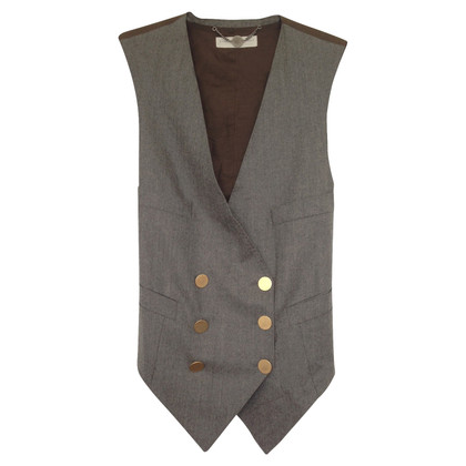 Stella McCartney Wool Waistcoat with brass buttons