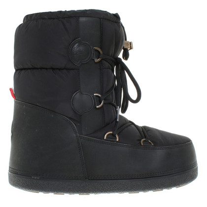 Moncler Boots in black