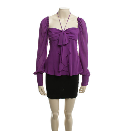 Escada Silk blouse in violet