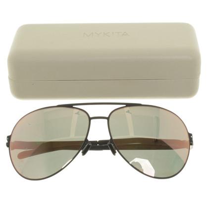 Mykita Sonnenbrille im Piloten-Stil
