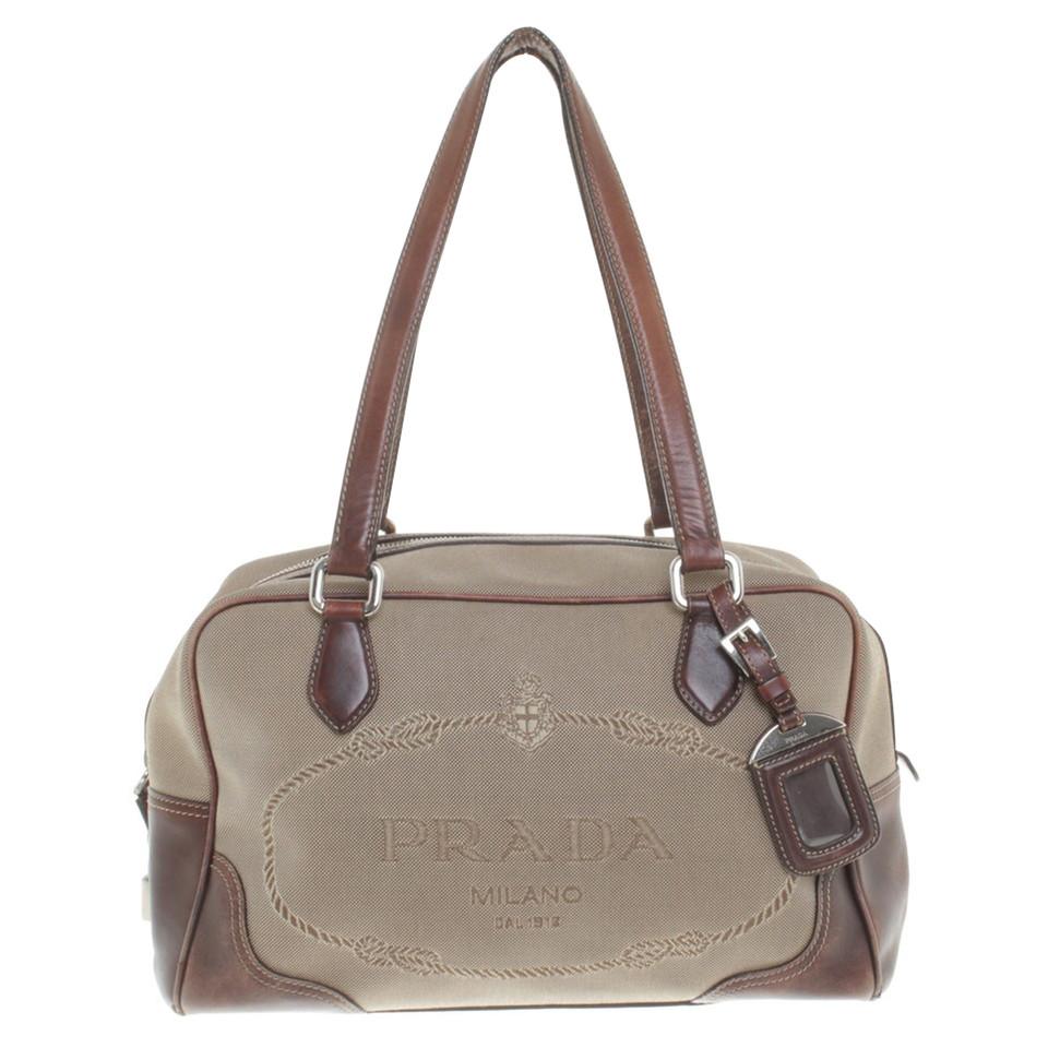Tassen Prada : Prada handtas in beige bruin koop tweedehands