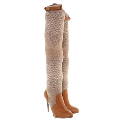 Missoni Boots in Bruin
