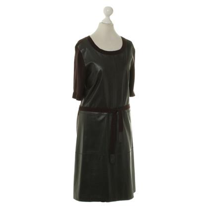 Andere Marke Max & Moi - Kleid aus Kaschmir/Leder