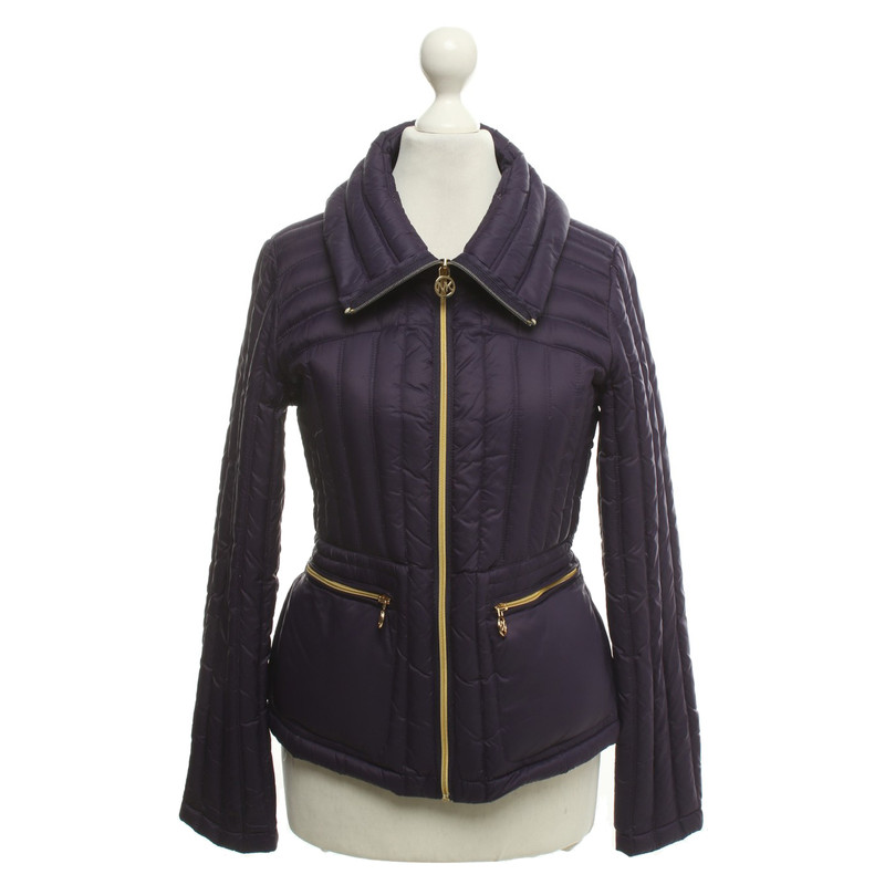Michael Kors Daunenjacke in Violett Second Hand Michael