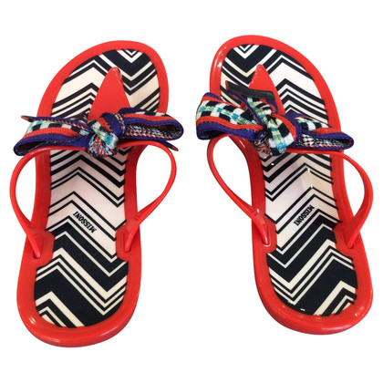 Missoni flip Flops