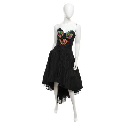 Ella Singh Bandeau dress with colored details