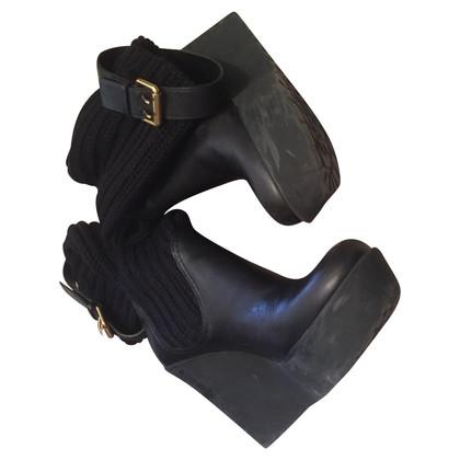 Gucci stivali di pelle