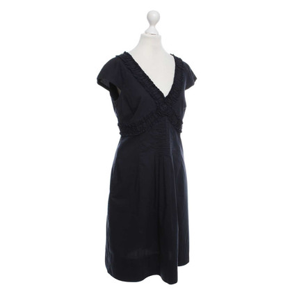 René Lezard Dress with ruffle detail