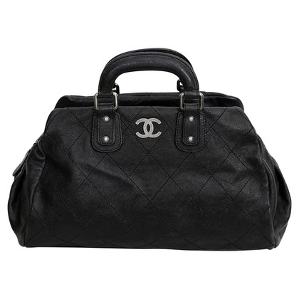 Chanel Bowlingbag in zwart