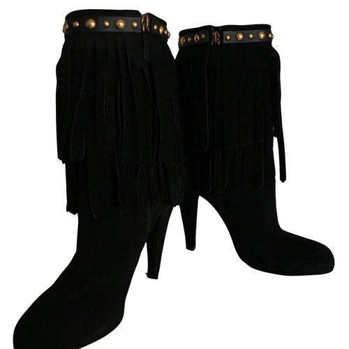 a016bfacbdb Gucci Black ankle boots - Second Hand Gucci Black ankle boots buy ...
