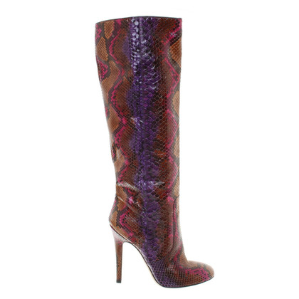 Jimmy Choo Boots from reptile leather