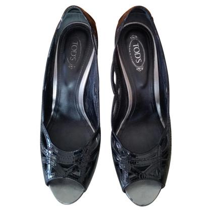 Tod's Schoenen in zwart lakleer