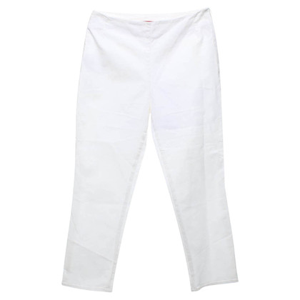Prada 3/4-Hose in Weiß