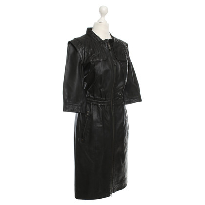 Other Designer Designers Remix Collection - leather coat in black