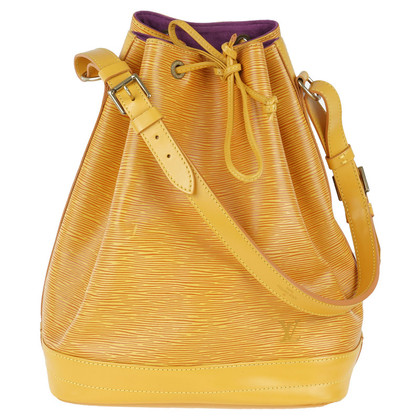 "Louis Vuitton ""Sac Noé EPI ' in yellow"