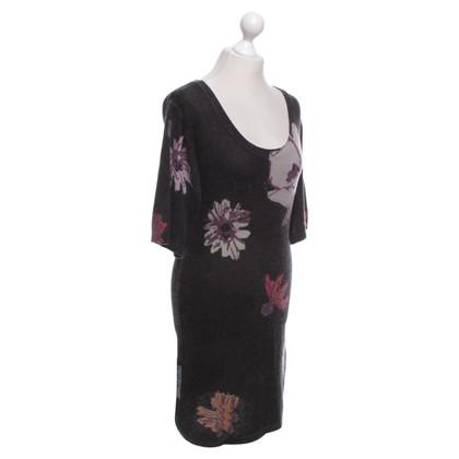 Missoni Strickkleid mit Blumen-Muster