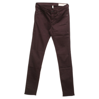 Rag & Bone Jeans in eggplant