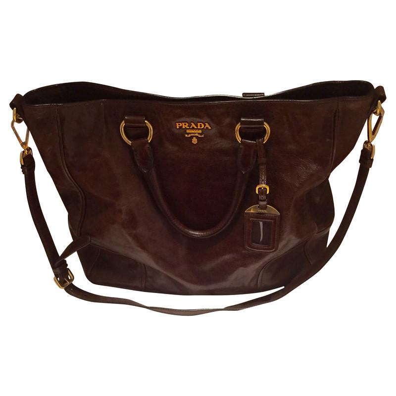 prada handbag buy second hand prada handbag for. Black Bedroom Furniture Sets. Home Design Ideas