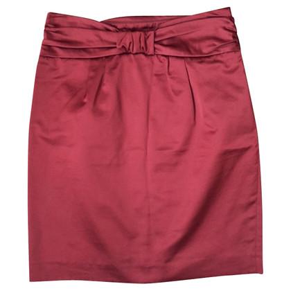 Tara Jarmon Pencil skirt in Bordeaux
