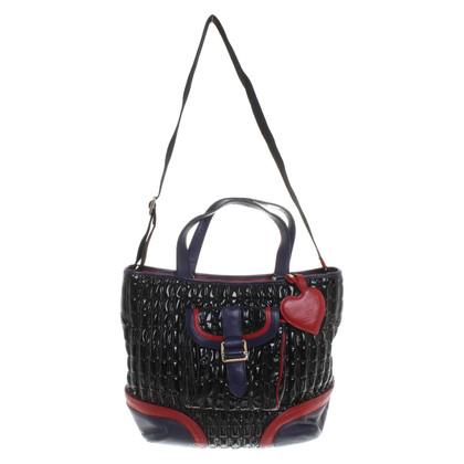 Moschino Love Handbag with stitching
