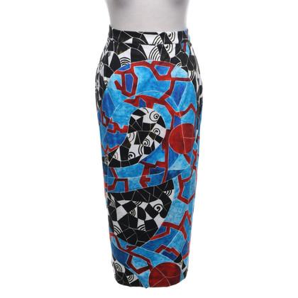 Marina Rinaldi skirt with pattern