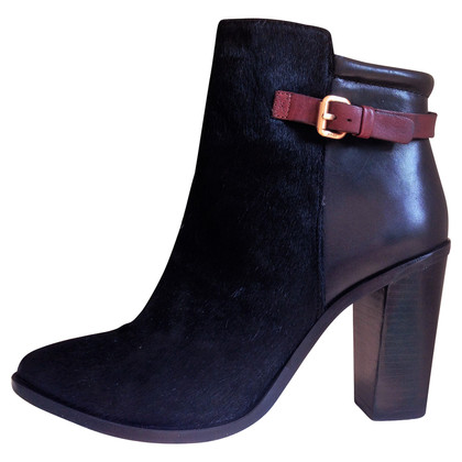 JOOP! Black ankle boots with fur