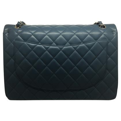 "Chanel ""Classic Double Flap Bag Blue"""