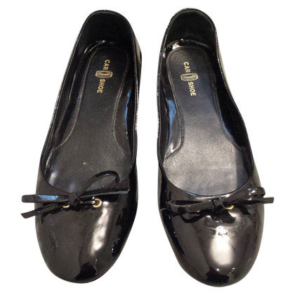 Car Shoe Ballerine Patent Leather
