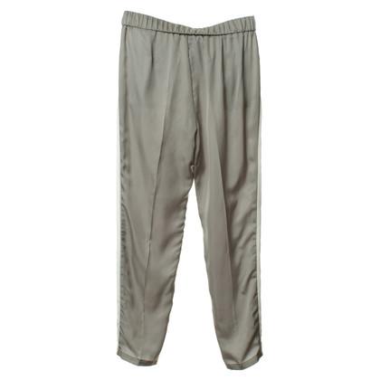 Luisa Cerano Silk pants pajama-style