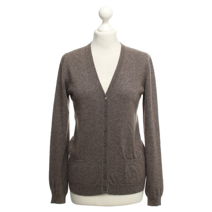 Malo Cashmere Cardigan in Brown