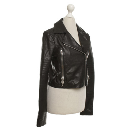 J Brand biker jacket made of leather
