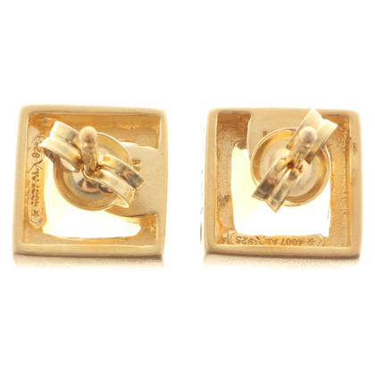 Bliss Studs '' Sahara '' made of silver