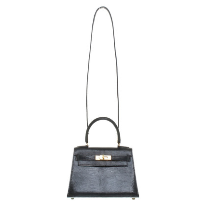Hermès '' Kelly Bag 20 '' made of lizard leather