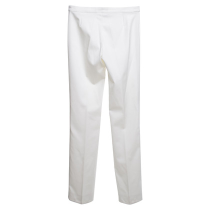 Versace trousers in white